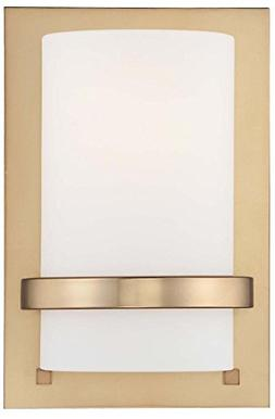 Minka Lavery 342-248 1-Light Wall Sconce, Honey Gold Finish
