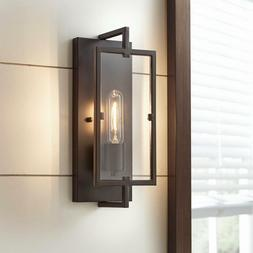 Home Decorators Collection 1-Light Vintage Bronze Wall Sconc