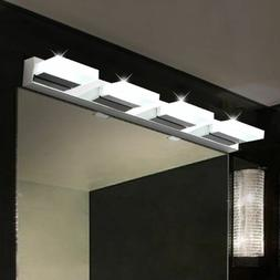 12W Bathroom LED Light Crystal Wall Fixture Sconce Makeup Mi