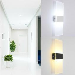 12W LED Wall Mount Sconce Fixtures Light Home Porch Bedroom