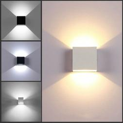 12w modern cob led wall light up