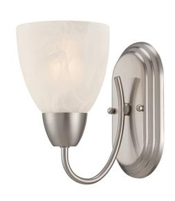 Designers Fountain 15005-1B-35 Torino Wall Sconce, Brushed N