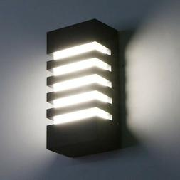 15W LED Wall Sconce Modern Porch Light Wall Lamp Indoor Outd