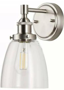 2- Fiorentino LED Industrial Wall Sconce – Brushed Nickel