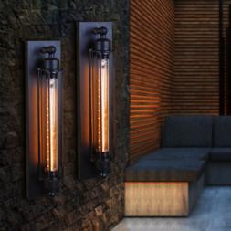 2*Industrial Retro Wall Lamp Sconce Edison Metal Steampunk W