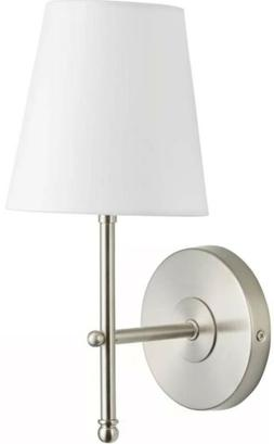 2- Tamb Wall Sconce 1-Light Fixture with Fabric Shade - Brus