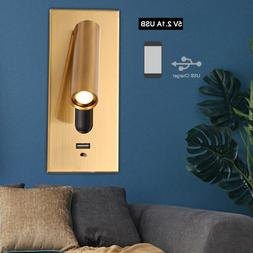 220V Bedroom <font><b>Wall</b></font> Lamp LED Home Interior