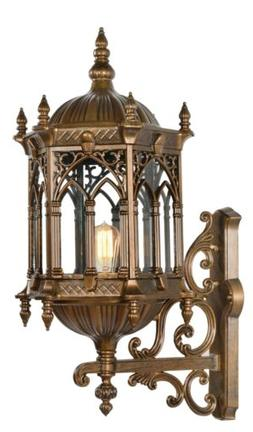 """31"""" Large Exterior Lantern Wall Sconce Weather Resistant Out"""