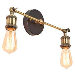 Home Luminaire 31679 Rushford 2-Light Adjustable Sconce with
