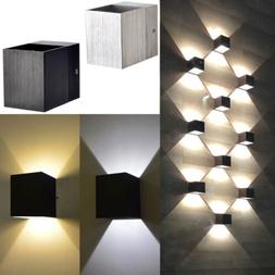 3W LED COB Square Wall Lamp Sconce Up Down Spot Light Fixtur