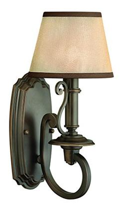 Hinkley 4240OB Traditional One Light Wall Sconce from Plymou