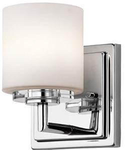 Kichler Lighting 45500CH O' Hara 1LT Wall Sconce, Chrome Fin
