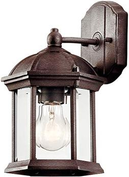 Kichler 49183TZL18 Barrie Outdoor Wall Sconce, 1-Light LED 1