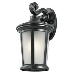 Kichler 49656  Turlee 1 Light Outdoor Wall Sconce - Black