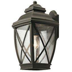 """Kichler 49842  Tangier 1 Light 17"""" High Outdoor Wall Sconce"""