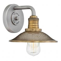 Hinkley 5290AN Rigby Wall Sconce, 1-Light 100 Watts, Antique