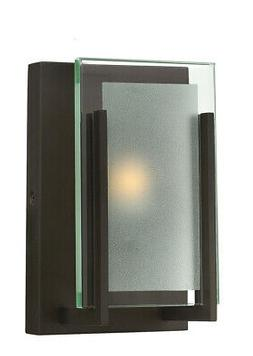 Hinkley Lighting 5650OZ Latitude Wall Sconce, Oil Rubbed Bro