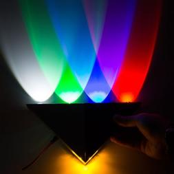5W LED Modern Triangle Wall Sconce Indoor Wall Lamp Decorati