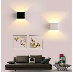 5W LED Wall Lights Up/Down Indoor Lamp Sconce Cube Wall Lamp