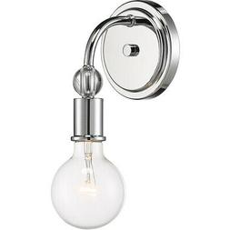 Nuvo Lighting 60/6561 Bounce Wall Sconce Polished Nickel wit