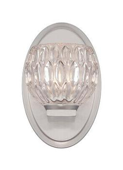 Designers Fountain 67901-SP Odessa Wall Sconce Satin Platinu