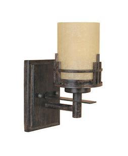Designers Fountain 82101 Mission Ridge Wall Sconce in Warm M