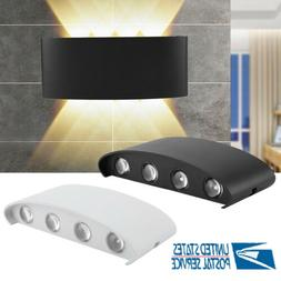 8W Modern LED Wall Light Up Down Sconce Lighting Lamp Fixtur