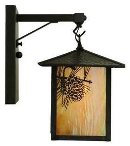 9 in seneca straight arm wall sconce