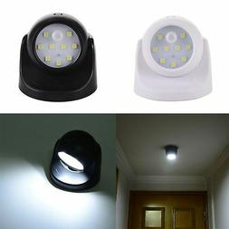 9LED Light-operated Motion Sensor Battery Power Sconce Wall