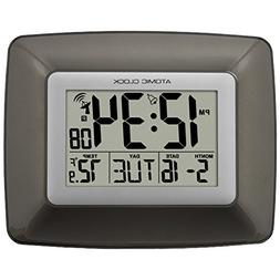 La Crosse Technology WS-8008U-IT Atomic Digital Wall Clock w