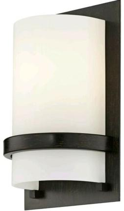 Minka Lavery 342-357, 1 Light Wall Sconce, Iron Oxide
