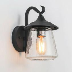 LOG BARN A03356 Farmhouse Outdoor Wall Sconce, 1-Light Exter