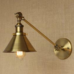 Vintage Industrial Adjustable Arm Light Wall Sconce Retro Li