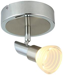 Adjustable Chrome Acrylic Spot light/ Track Lighting Ceiling
