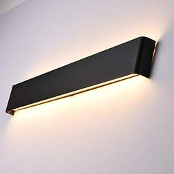Aipsun 35W/43.3in Rectangular LED Matte Wall Mount Sconce Mo
