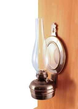 "Vermont Lanterns Brass ""Dorset"" Wall Oil Lamp"