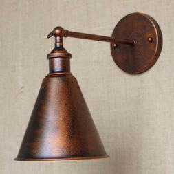 Antique Copper Cage Nautical Wall Light Vintage Indoor/Outdo