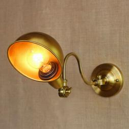Antique Gold Wall Lamp Lights Sconce Lighting With Long Awin