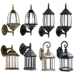 antique outdoor wall light lamp lantern sconce