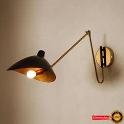 Arm Adjustable Wall lamp Modern Serge Mouille Wall Light Bed