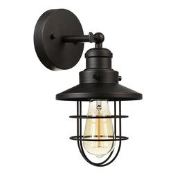 Globe Electric Beaufort 1-Light Oil Rubbed Bronze Sconce 591