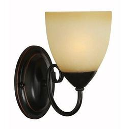 Hardware House Berkshire Series 1 Light Oil Rubbed Bronze 5
