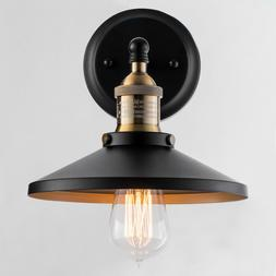 Black Wall Sconce Industrial Vintage Wall Lamp Led Porch Lig