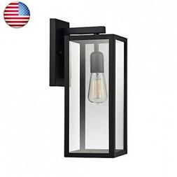 Globe Electric Bowery 1-Light Outdoor Indoor Wall Sconce, Ma