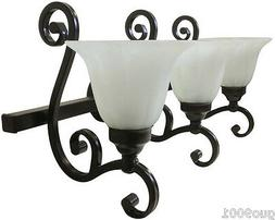 Brand new Indoor Interior bathroom Wall Sconce 3 Lights Oil