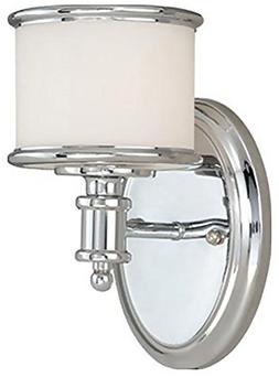 Carlisle 1 Light Wall Sconce - Finish: Chrome