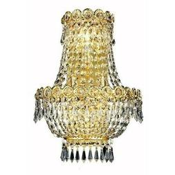 century 17 3 light royal crystal wall