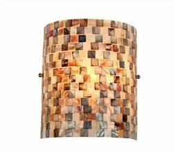 Chloe Lighting CH3CD28BC08-WS1 Shelley Mosaic 1-Light Wall S