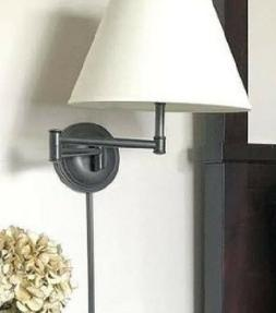 Pottery Barn Chelsea Wall Sconce Bronze Bedroom Bed Swing Ar
