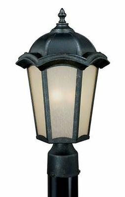 Vaxcel Chloe CE-OPU090GT Gold Stone Outdoor Post Top Light